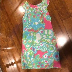 Lilly Pulitzer beaded top dress size 0